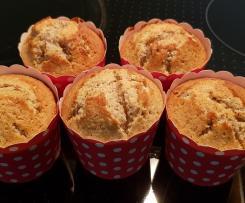Mandel-Himbeer-Tonka-Muffins
