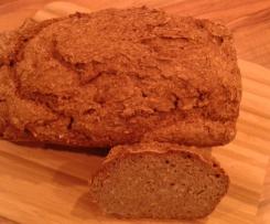 Glutenfreie Variation Balsamico-Körnerbrot