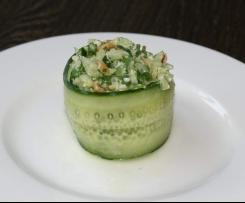 Apfel-Gurken-Salat