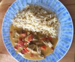 Curryschnitzel mit Reis (WW) 11PP