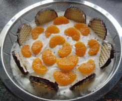 Schaumkuss Dessert / Mohrenkopf Creme /