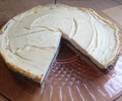 Mohnkuchen mit  Vanilledecke WW Rezept