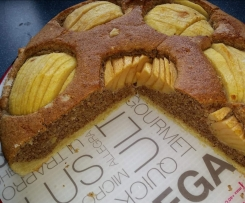 Apfel-Nuss-Kuchen, schnell und einfach