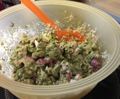 Brokkolisalat mit Radieschen