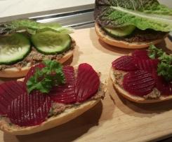 Brotaufstrich vegan herzhaft und lecker