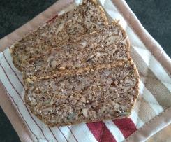 Veganes Low Carb Brot (ohne Ei und Quark)