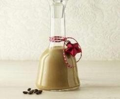 Variation von Kaffeelikör