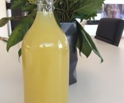 Ingwer-Sirup mit Zitrone und Orange