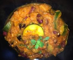 Süßkartoffel - Chili Sin Carne