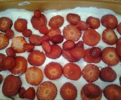 Erdbeer-Tiramisu die leichte Variante