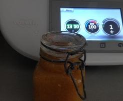 Kaki-Orangen Chutney