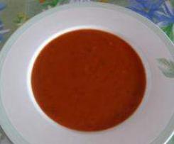 Tomatensuppe für Stoffwechselkur HCG - Low carb