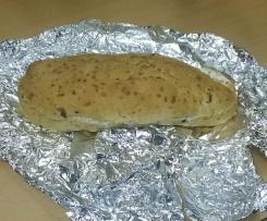 Schnelles Käse Speck Baguette