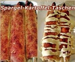 Spargel-Kartoffel-Taschen