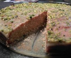 Türkischer Grieskuchen, vegan