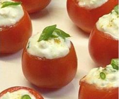 Gefüllte Tomaten mit Creme