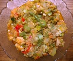 Antipasto (süß-sauer Gemüse-Allerlei)