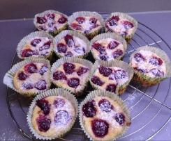 Himbeer-Quark-Muffins