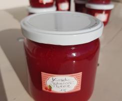 Kirsch-Johannisbeer-Marmelade