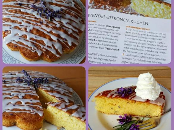 Lavendel Zitronen Kuchen Von Fauschi Ein Thermomix Rezept Aus Der