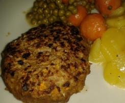 Leckere Frikadellen / Fleischküchle mit Karotten