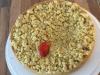 Vanille Rhabarber Streuselkuchen