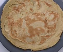 Pfannekuchen Pfannenkuchen Apfelpfannenkuchen fluffig