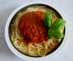 Weltbeste Tomatensoße