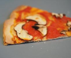 Pizzateig für hohe Temperaturen