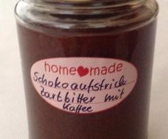 Schokoaufstrich mit Kaffeegeschmack