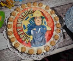 Giotto-Torte mit Schokoladenbiskuit und hartem Tortenboden