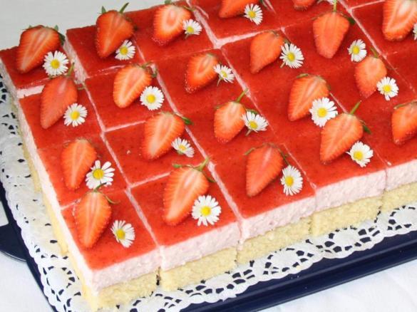 Kuchen Bilder erdbeertraum kuchen conny k ein thermomix rezept aus der
