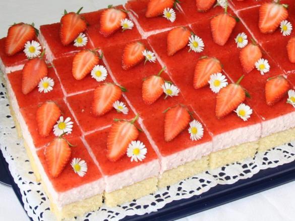 Erdbeertraum Kuchen Von Conny K Ein Thermomix Rezept Aus Der