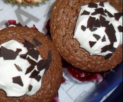 Schwarzwälderkirsch-Cupcake