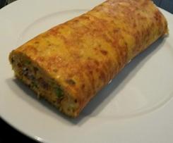 Zucchini-Tomaten-Pfannkuchen, vegetarisch, leicht und lecker
