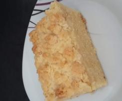Lecker Streuselkuchen mit Puddingfüllung