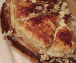 Zwiebelkuchen nach Elsässer Art