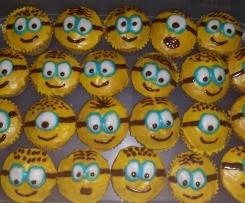 Fantakuchen - als Cupcakes/Muffins oder klassisch mit Pfirsich-Schmand