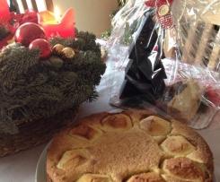 Weihnachtlicher Bratapfelkuchen ( Weltbester Apfelkuchen, auch für Kinder!)