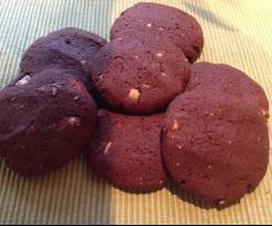 Cashewnuss Schoko Cookies fructosefrei