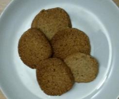Schnelle Haselnussplätzchen, Haselnuss-Kekse