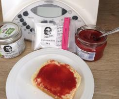 Erdbeer Samt Marmelade ohne Zucker