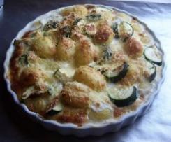 René s.Überbackene käse - kartoffeln mit Zucchini ..