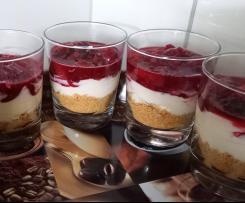 Beeren-Vanille-Nachtisch
