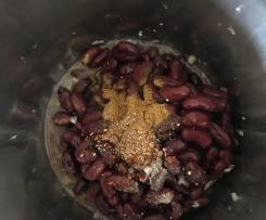 Refried Beans ( Frijoles refritos, Mexikanisch, Texmex)