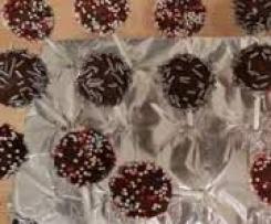 Cake Pops mit Schoko-Nuss-Aufstrich
