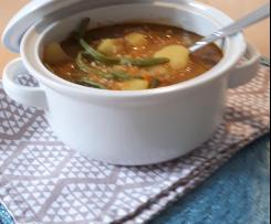 Kartoffel-Bohnen-Eintopf
