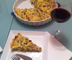 Sauerkraut-Quiche