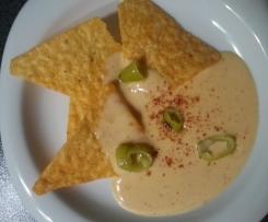 Käsedip für Tortillachips oder Nachos
