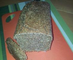 Körner Brot, ohne Weizenmehl ohne Hefe
